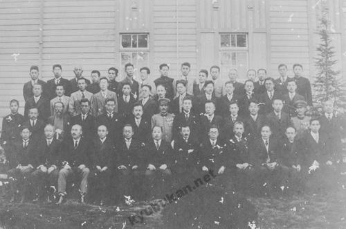 徳島県農業学校(現在の徳島県立城西高校)教師時代