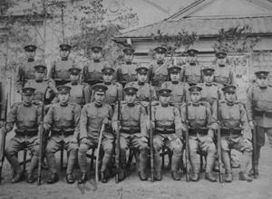 近衛師団在職中の写真1