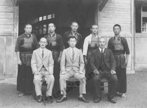 旧制麻植中武道教授2