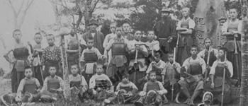 少年剣士たち